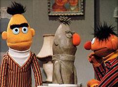 Sesame Street Bert Stare