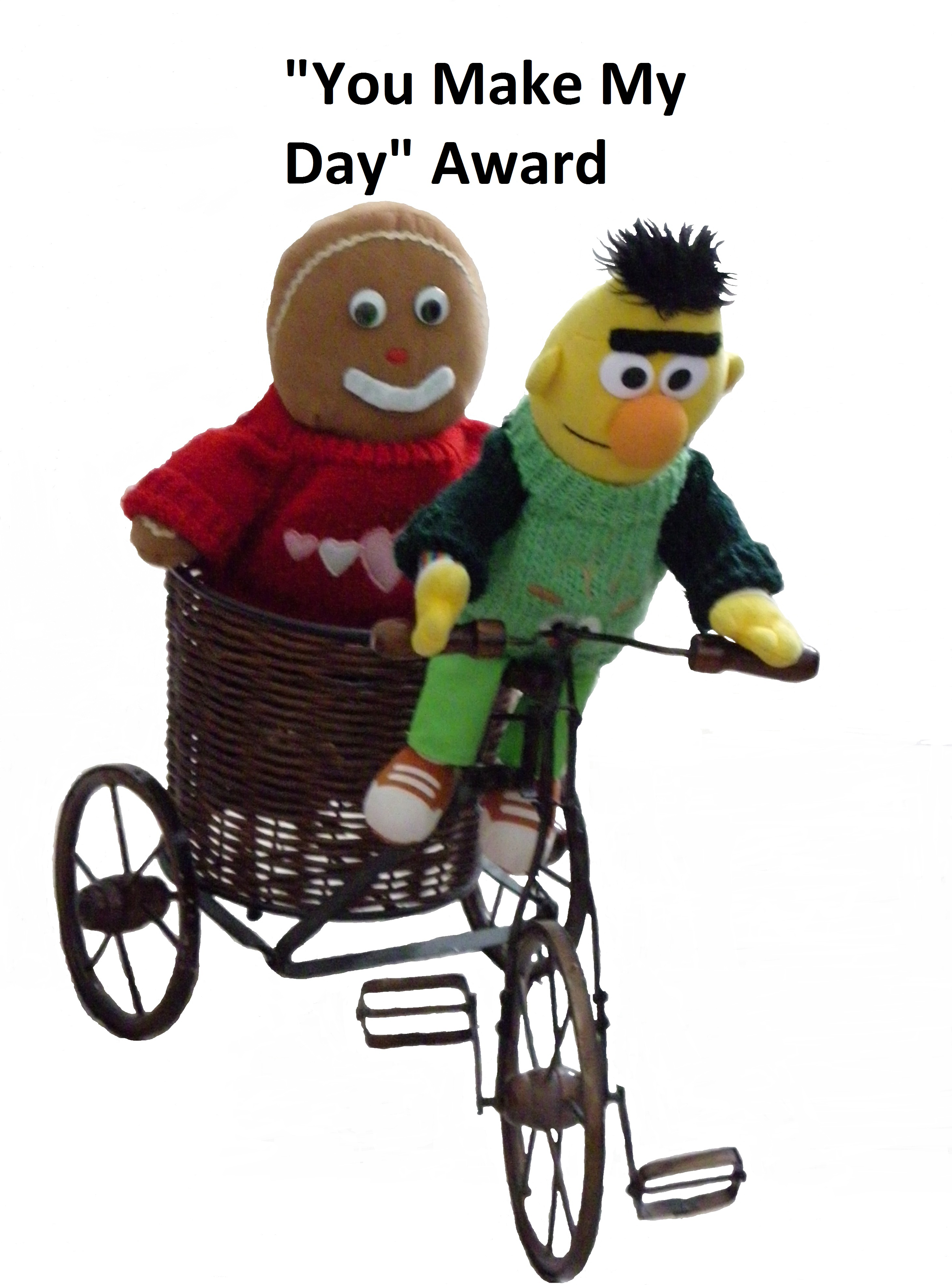 """My Day In Front Of The Camera: The """"You Make My Day"""" Award"""