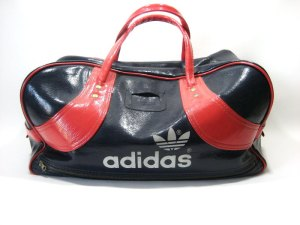 The Adidas bag.  No high school nerd was complete without it.
