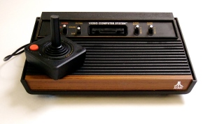 Atari-This exciting piece of technology caused ooo's and aaah's everywhere it went.