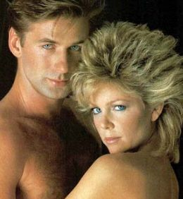 Knots Landing's Lisa Hartman had great (big) hair.  I wore mine exactly like it in grade 12 and thought it was the coolest thing ever.