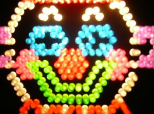 Lite Brite rocked.  Clowns, however, are social deviant freaks.