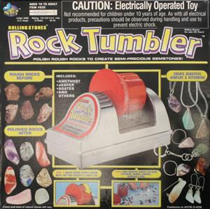 Yup, I tumbled me some rocks.