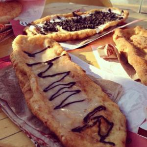 Beaver Tails.  Footnote: These have never been attached to a beaver.